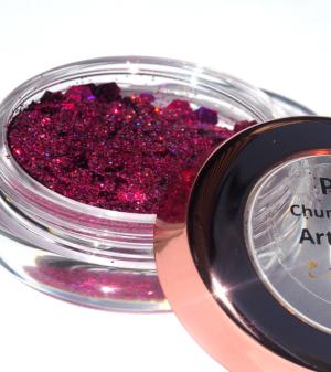 Sparkle Chunky Shape Pink